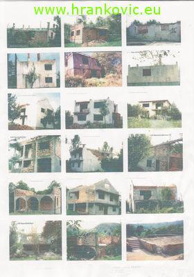 Zapaljene kuće u zaseoku Memić Brdo