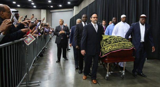 VIDEO// Hiljade ljudi ispratilo legendu Muhameda Alija