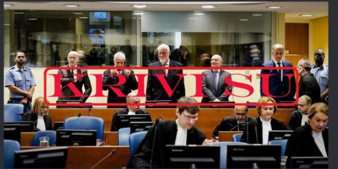 Potvrđena agresija Hrvatske na BiH,Prlić i ostali osuđeni na 111 godina zatvora